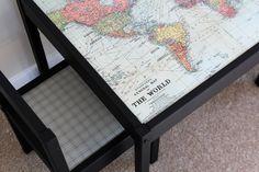 map latt ikea table hack