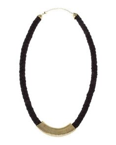 Jules Smith Petra Coil-Wrapped Rope Necklace