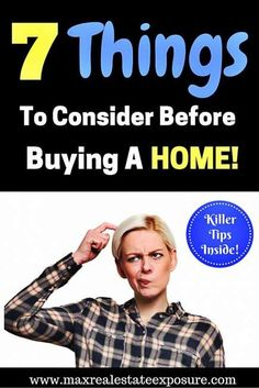 Knowing what to consider before buying your first home is something everyone should be wary of to avoid making a mistake that will be regretted later. http://www.maxrealestateexposure.com/what-consider-before-buying-first-home/