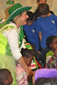 Our fabulous fairy leprechaun!