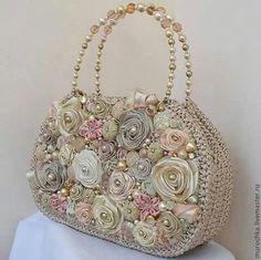 Crochet y flores