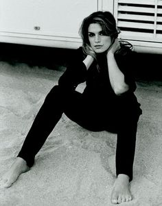Cindy Crawford  Cindy Crawford, 1995 by Peter Lindbergh