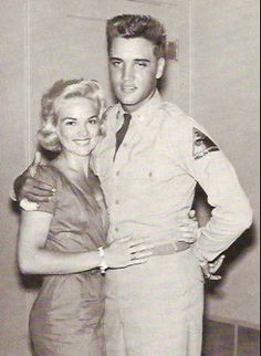 """Little"": Anita Wood    George Klein introduced 19-year-old Anita to Elvis in 1957, and she remained his preferred girlfriend until his induction into the army a year later.  She remembers the last thing Elvis said to her before he went overseas: ""I love you, Little …"" Even after Elvis met Priscilla in Germany, he continued to call Anita and send her presents. She was still in the picture when Elvis returned from the army, and it wasn't until 1962, when she found out about Elvis and…"