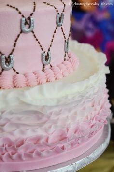 Pony Themed Birthday cake