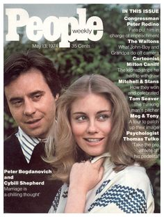 Dear Old Hollywood: Peter Bogdanovich and Cybill Shepherd Home