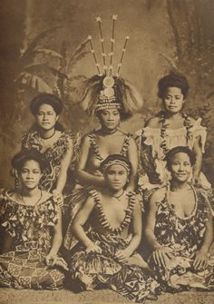Samoa, pictures from a very old book