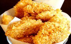 Receita de nuggets de frango para o prato de entrada da fase ataque dukan.