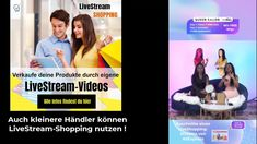 Verkaufe deine Produkte LIVE Shopping Queen, Videos, Youtube, Marketing, Live, Products, Youtubers, Youtube Movies