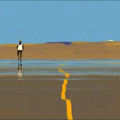 "by ""Peleng"" Sergey Kolesov Sergey Kolesov, Landscape Artwork, Environment Concept Art, True Art, Environmental Art, Digital Illustration, New Art, Scenery, Sketches"