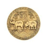 Носорог иСлон на Монете-защита от воровства, грабежа и нечесных людей.