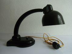 Tischlampen - Arbeitslampe Bakelit Bauhaus Ära 30-40er Jahre - ein Designerstück von MaDuett bei DaWanda