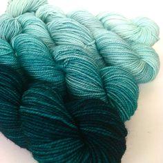 New Classic Sock Gradient Set in Escape, hand dyed yarn from Sunrise Fiber Co. Crochet Yarn, Knitting Yarn, Knitting Patterns, Yarn Stash, Yarn Needle, Ombre Yarn, Yarn Inspiration, Sock Yarn, Hand Dyed Yarn