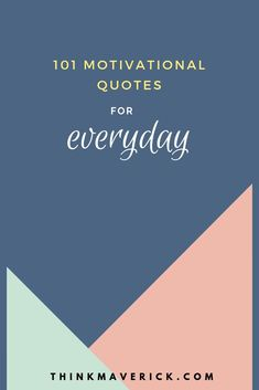 101 Motivational Quotes to Start Your Day Right - ThinkMaverick. Motivational Quotes for Every Day. A daily morning shot of motivation can prime you to be your absolute best every day! Some Inspirational Quotes, Motivational Quotes For Success, Daily Quotes, Life Quotes, Know What You Want, Know Who You Are, Tomorrow Will Be Better, Secret To Success, Good Morning Quotes