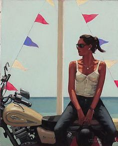 Jack Vettriano- this one's one of my favorite.