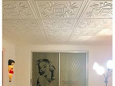 Living/Dining Ceiling Tile Ideas & Photos - DecorativeCeilingTiles.net