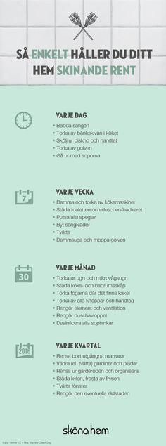 3 tips på vårstädning som ger ny energi till hemmet Konmari, Diy Home Decor Rustic, Bra Hacks, Décor Boho, Home Hacks, My New Room, Getting Organized, Homemaking, Home Organization