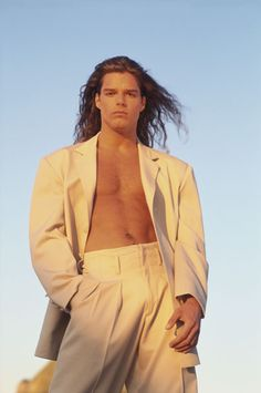 Ricky Martin - A Look at Famous Shirtless Men Throughout the Ages -- The Cut