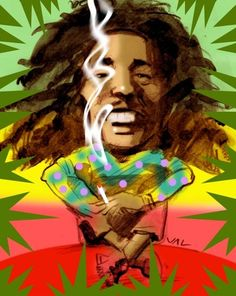 *Bob Marley* More fantastic caricatures, pictures and videos of *Bob Marley*