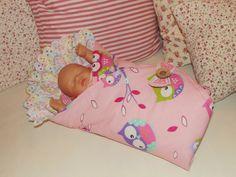VELESLEVA Pro malou maminku - sovičková... zavinovačka pro panenku, VIRGIN for doll, VIRGIN für Puppen♥, sewn toys