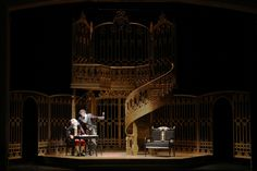 The Barber of Seville. Arnulfo Maldonado, set design.  Central City Opera.