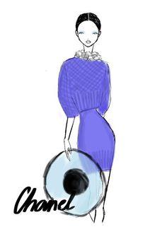 Chanel Paris Womenswear S/S 2013 by Rei Nadal.