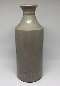 Antique Stoneware FIELD INK Bottle LONDON ENGLAND  | eBay