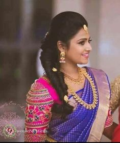 South Indian Bridal Blouse Designs Embroidery India Ideas For 2019 Designer Saree Blouses, Silk Saree Blouse Designs, Fancy Blouse Designs, Bridal Blouse Designs, Blouse Patterns, Dress Designs, Sleeve Designs, Saris, Deepika Padukone