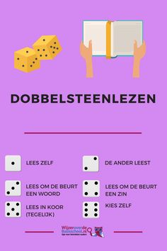 Leren Lezen - dobbelsteenlezen Education Humor, Primary Education, Montessori Education, Educational Leadership, Educational Technology, High School Counseling, Classroom Language, Learning Quotes, Teacher Quotes