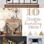10 DIY Decorating Ideas
