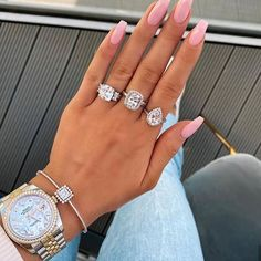 Image shared by ivalina_borisova. Find images and videos about fashion, nails and luxury on We Heart It - the app to get lost in what you love. Wedding Nails For Bride, Bride Nails, Baby Pink Nails, Gel Nagel Design, Manicure Y Pedicure, Nagel Gel, Perfect Nails, Simple Nails, Trendy Nails