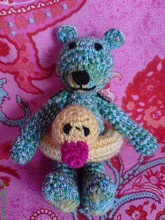 Mini Teddy Bear Amigurumi - Free Pattern - PDF Download