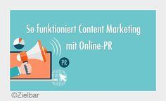 Welche Rolle spielt #contentmarketing in der #OnlinePR? Vielen Dank für die Veröffentlichung @zielbar