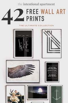 The Ultimate Collection Of 42 Free Wall Art Prints Free Poster Printables, Free Printable Art, Free Art Prints, Wall Art Prints, Masculine Art, Engineer Prints, Diy Wall Art, Mens Wall Art, Wall Decor