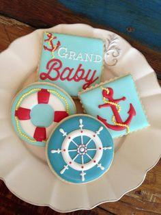 Mẫu bánh cookie đầy tháng | Mẫu Bánh Đẹp - Cake Inspiration