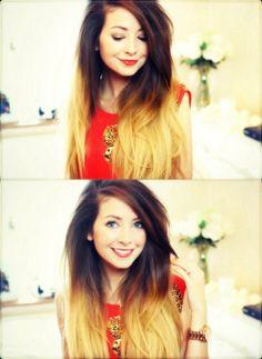 Zoella Ombre Hair