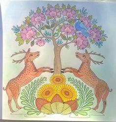 Gekleurd uit #Natuurmandala's van #AnnemarieVermaak