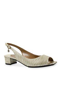 866c0aadd7c0 J Reneé Karwin City Slingback Sandal - Available in Extended Sizes