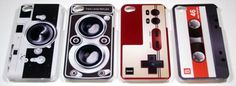 I wish that they made these phone cases for Androids.  #mixtapephone #whaaat
