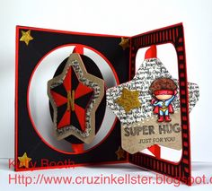Katie Label Pivot Card | Elizabeth Craft Designs