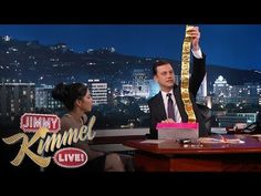 "Jimmy Kimmel Goes Through Sarah Silverman's Purse, Finds Condoms, A Gun, And ""Space Jam"" DVD 