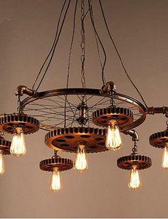 Kreative Gang Von Retro Home Mbel Schlafzimmer Kronleuchter Beleuchtung Anhnger Deckenleuchten Hngeleuchten Warmweiss