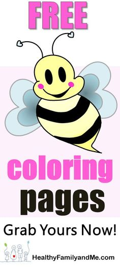Bee Coloring Page Grab Your Free Printable Pages Now Click For The Best