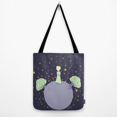 The prince tote bag by Pendientera on Etsy