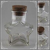 Mantar Kapaklı Kavanoz Yıldız Model Nikah Şekeri Malzeme, resim 1