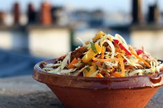 Chicken-Mango Slaw by David Lebovitz... Using a rotisserie chicken and prepackaged slaw makes this super easy!