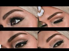 Natural eye make up tutorial