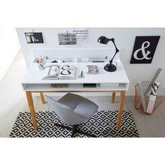 bureau vintage jimi la redoute interieurs prix avis notation livraison le bureau 2. Black Bedroom Furniture Sets. Home Design Ideas
