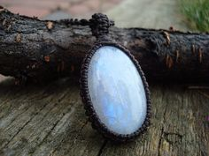 Moonstone Necklace/Atlantis/Moonstone by GaiasGiftsToUs on Etsy