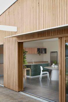 GalaHouse - Orange, NSW — pw studio Prefabricated Houses, Sweet Home, White Cottage, My Dream Home, Dream Big, Tiny Living, Interior Design Inspiration, Farm Life, Facade