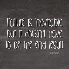 #failure #quote by Ernie Kasper